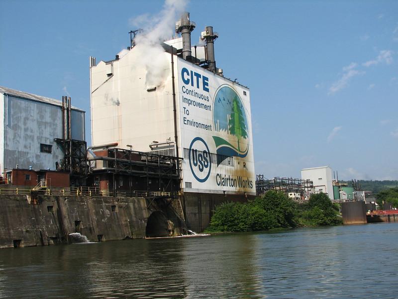 US Steel plant.