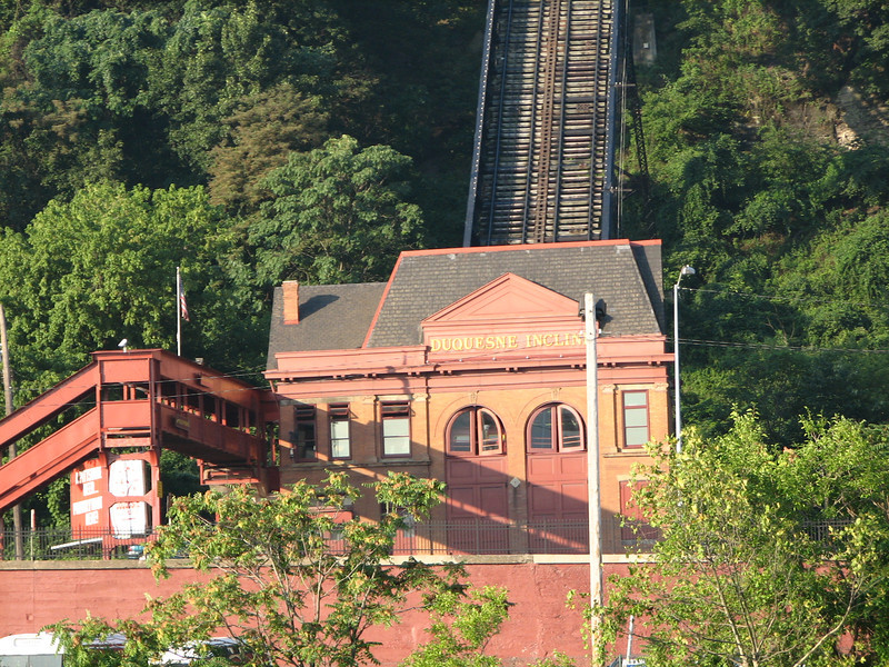 The station house for the Duquesne incline.