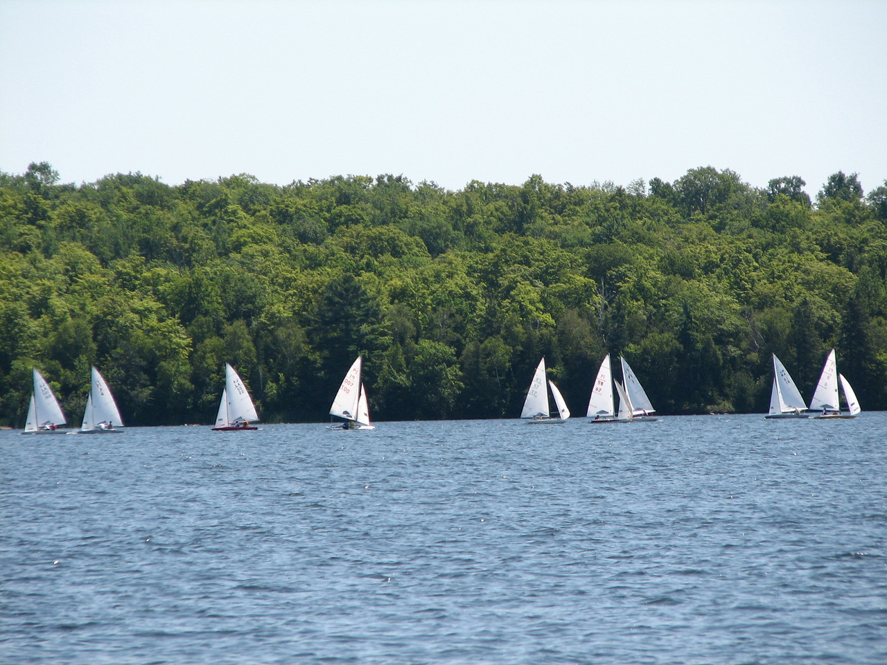 More view of sailboat race