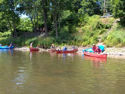 Canoe trip 7-6-2007 through 7-8-2007