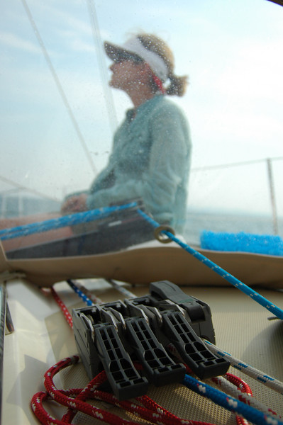 Sailing, August.