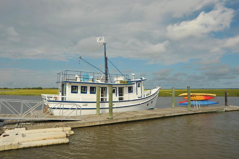 Capt Gabby St. Simons Sound, Georgia Trip - Southeast Adventure Outfitters 09-16-13
