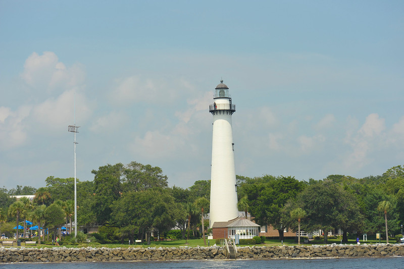 St Simons Lighthouse as seen by the Capt Gabby of SouthEast Adventure Outfitters on 08/31/13