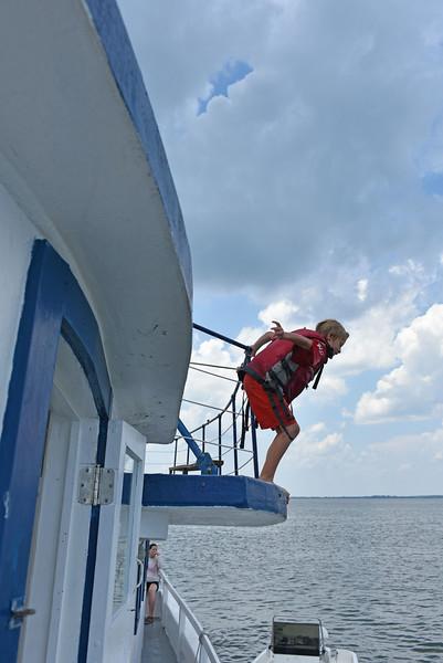 Southeast Adventures Capt Gabby Fun in the Sun Kayaking on a Summer Day at Blackbeard Island, Georgia 07-23-15