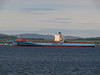 Maersk Beaumont off Greenock Esplanade.<br /> 20th June 2010.