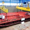 Construction begins on the Reflection at the Meyer Werft shipyard in Papenburg, Germany.
