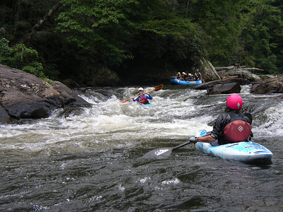 Chattooga Sec IV Aug 14-15 2010