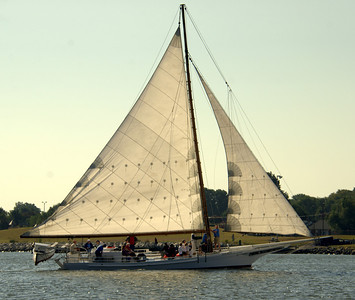 Skipjack Races in Cambridge Sept 21, 2013