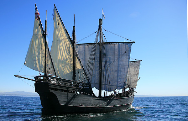 Columbus's ship Nina (replica)