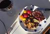 Bbq steak, tatties & home grown tomatoes from Rebeka's garden