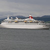 Boudicca leaving Greenock.<br /> 15th June 2011