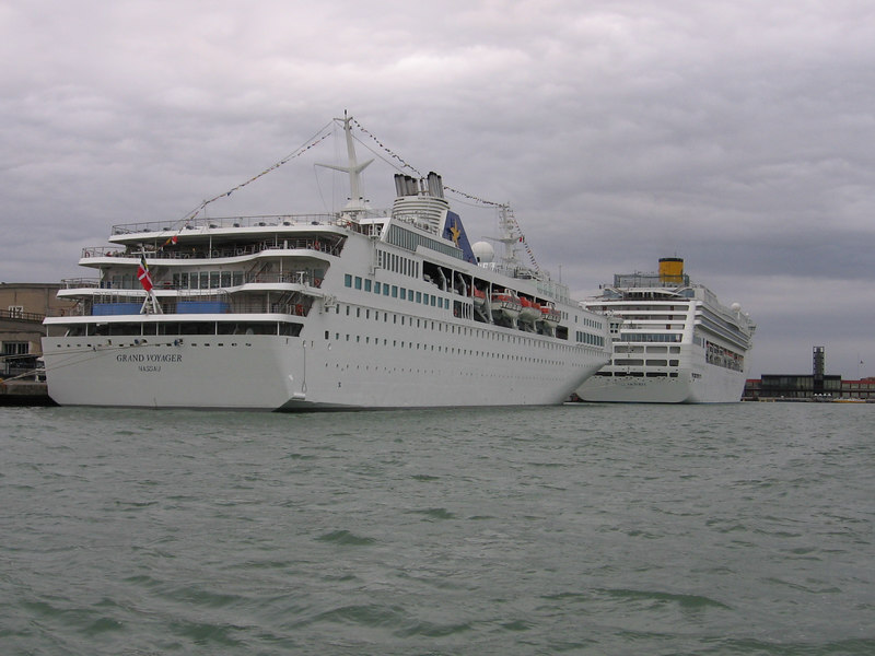 GRAND VOYAGER and COSTA VICTORIA