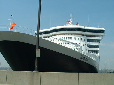 Queen Mary 2 In New York City
