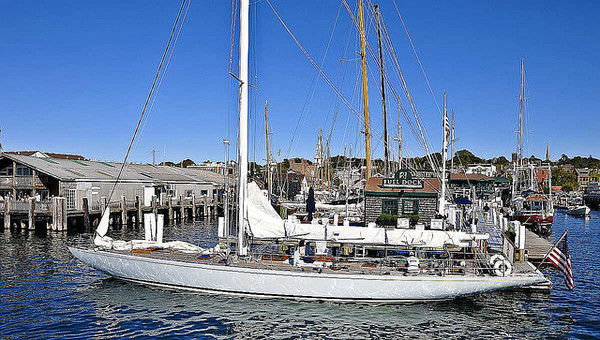 "Columbia, First 12-meter America's Cup Winner. Arguably, the fastest 12-meter yacht in the world. First 12-meter to win the America's Cup and the first 12-meter with a winged keel to win the Cup. (Source: <a href=""http://www.flickr.com/photos/deuce00/5081389509/"">http://www.flickr.com/photos/deuce00/5081389509/</a>)"