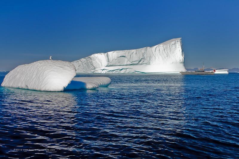 FPB 83 Wind Horse, Disco Bay, Greenland, 2008.