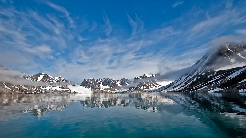 Svalbard and the high Arctic environment is magical. These are some of our favorite images from summer 2009.