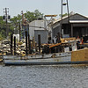 Shrimp Boats in the East River at Downtown Brunswick, GA