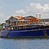 The Peacemaker (Avany) in the East River at Downtown Brunswick, GA