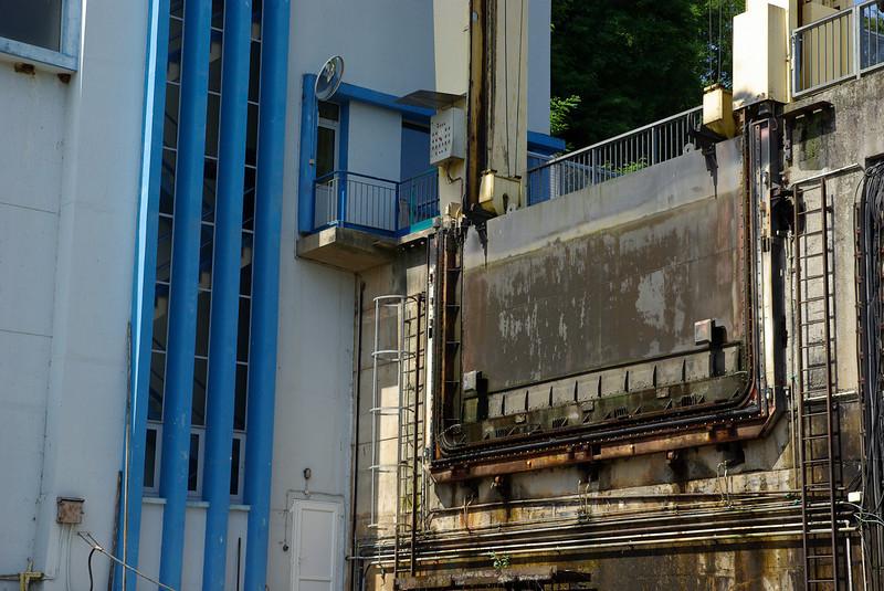 Plan Incliné de Arzwiller - Une des portes de 13 tonnes
