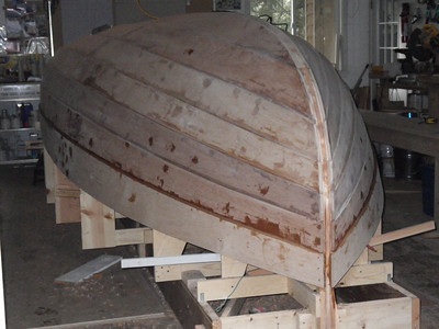 """""""Marianita"""" is all planked up. Now the real fun begins!"""