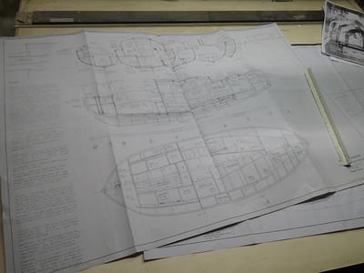 Old school diazo paper plans