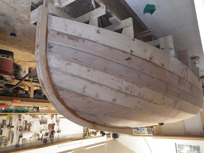Fish-eye view of the bow