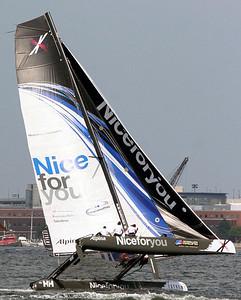 extreme Sailing Series Boston
