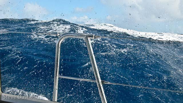New Zealand to Fiji -Tasman Sea Strong Gale - Part 1