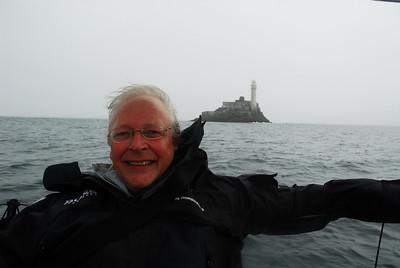 Richard Donkin passing Fastnet Rock