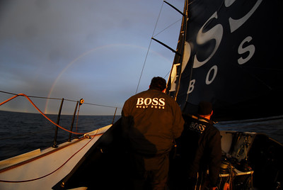 Ross Daniel at the helm.