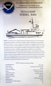 First we visit Carolyn and Jerry Warren's vessel, The Ferrel.  Here is its description.
