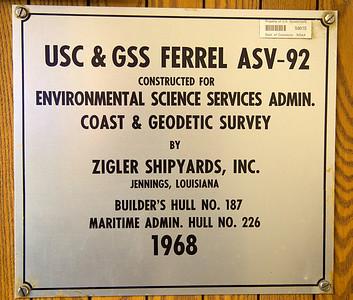 Original Ferrel nameplate