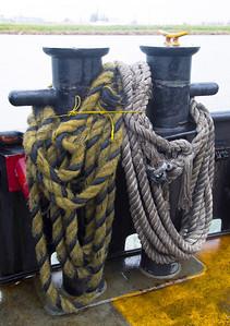 Ferrel mooring ropes
