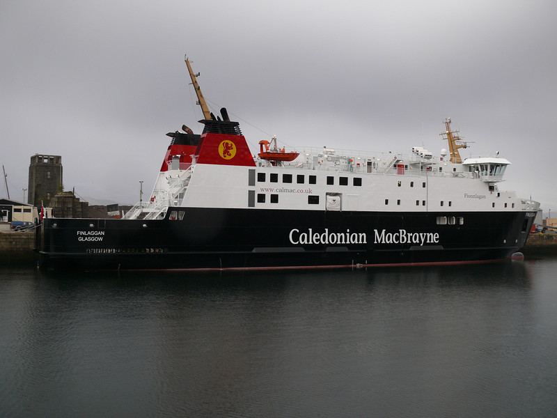 FINLAGGAN in Greenock's James Watt Dock.<br /> 21st April 2012
