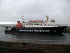 Lord of the Isles leaving Ardrossan.<br /> 7th January 2012