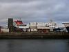 HEBRIDES in Garvel Dry Dock.<br /> 22nd March 2009