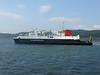 PENTALINA B berthing at Kennacraig.<br /> 17th April 2009.