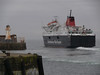 Caledonian Isles leaving Ardrossan.<br /> 5th March 2011.