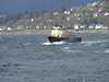 SEABUS battling the waves off Gourock.<br /> 8th March 2008