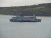 Stena Navigator in Loch Ryan.<br /> 30th May 2011.