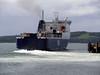 P&O's Norbay leaving Cairnryan.<br /> 30th May 2011.
