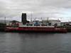 SOUND OF SANDA in James Watt Dock.<br /> 14th March 2010.