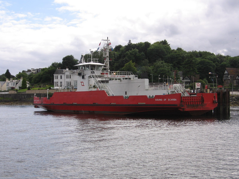 SOUND OF SCARBA at Hunter's Quay. July 2006.