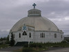 Our Lady of Victory Roman Catholic 'igloo' church in Inuvik