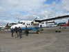 Our Twin Otter for the flight in to Margaret Lake
