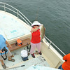 Offshore fishing on the Ospo from Jekyll Island, Georgia 05-26-14