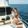 Offshore fishing on the Ospo from Jekyll Island, Georgia 05-31-14