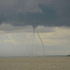 Ospo Fishing Trip encounters THREE WATER SPOUTS in St. Andrews Sound on 09-19-14