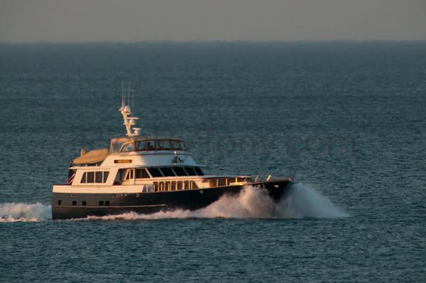 Motor Yacht Grenadier off of Flagler Beach on Mar. 14, 2016