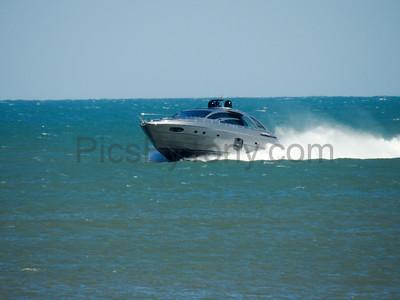Yacht Steela off the Coast of Flagler Beach, FL on Apr,. 24, 2017